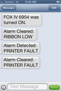 FOX IV 6950 Texts