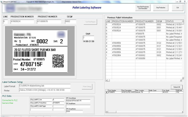 Pallet Labeling Software Solution 1