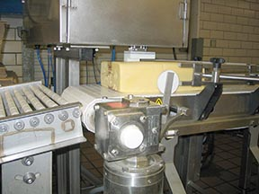 Cheese weigh labeling Dairy