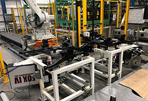 Labeling Solutions for Automotive Industry - Frame Labeling