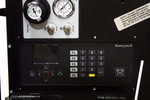 Honeywell print and apply control panel